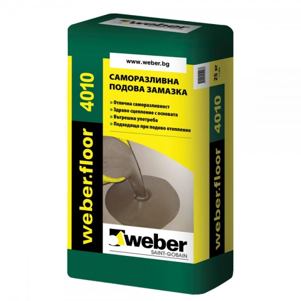 Weber weberfloor 4010 Саморазливна замазка